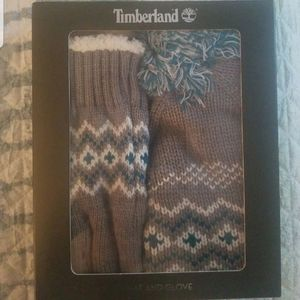 Timberland Accessories - Timberland hat and glove set
